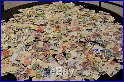 10 LB Lot Of Off-Paper World and US Mix of Used Stamps
