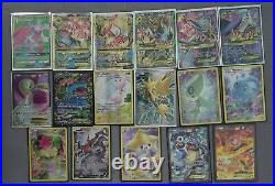 141 Card Huge Pokémon Ex Gx Full Art Trainer Rare Base Lot