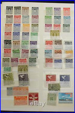 15K+ Germany & States Stamps Collection Stockbooks Early Mint Nazi Infation DDR+