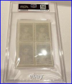1964 Slania Stamp Panel Cassius Clay PSA 10 Rookie Muhammad Ali RC Gem Mint