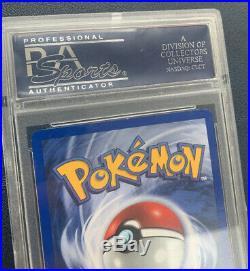 1999 Base Set 1st Edition Nidoking 11/102 Holo PSA 9 MINT Thick Stamp