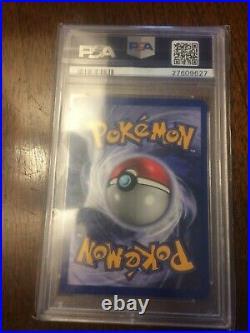 1999 E3 Pikachu Yellow Cheeks Pokemon card 58/102 PSA 10 Gem Mint
