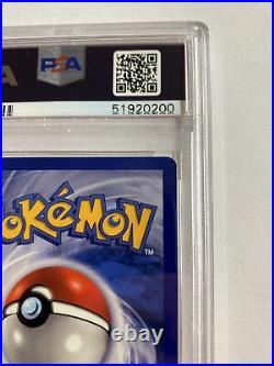 1999 Pokemon Base Set 1st Edition Charmander #46 PSA 9 MINT THICK STAMP