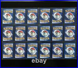 1999 Pokemon Base Set COMPLETE Uncommon Common Cards /102 Lot + 1st & Shadowless
