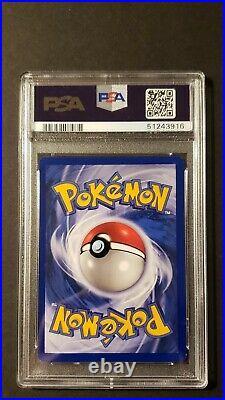 1999 Pokemon Game Charmander 1st Edition Gray Stamp 46/102 PSA 9 Mint