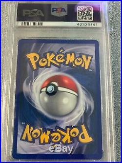 1999 Shadowless 1st Edition Machamp 8/102 Thick Stamp PSA 9 MINT Rare Pokemon