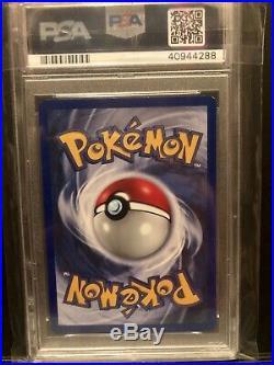 1st Edition PSA 9 MINT Blastoise HOLO 1999 Pokemon Base Set THICK STAMP
