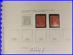 (2) Collecta Australia Stamp Albums 1913-1980 Mint & Used Collection Lot