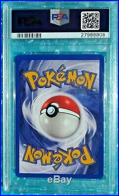 2000 Pokemon Japanese Promo MEWTWO JR Rally Stamp Black Star #12 PSA-10 Gem Mint