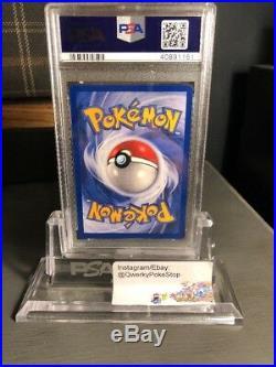 2001 Dark Charmeleon Gold W Stamp Promo PSA 10 GEM MINT Pokemon WOTC Team Rocket
