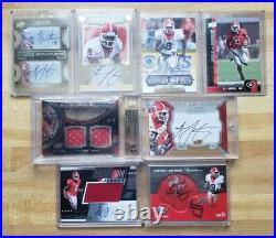2011 Exquisite AJ Green BGS 9.5 10 Auto Rookie Jersey #18/35 One of One Lot 7/10