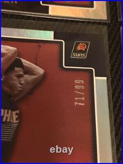 2015-16 NBA Hoops DEVIN BOOKER Rookie Card RC Artist Proof /99 LOT Silver SP/299