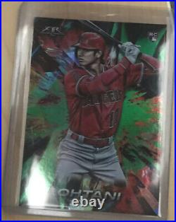 2018 Topps FIRE Shohei Ohtani RC Parallel/199 MINT Angels Star P/DH