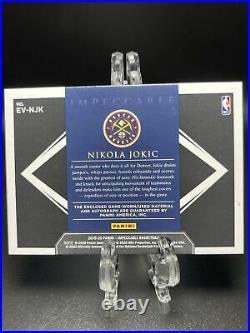 2019-20 Impeccable Nikola Jokic Elegance Jersey Patch Auto Autograph #10/25 MVP