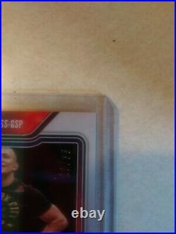 2021 Prizm UFC Georges St-Pierre SENSATIONAL SIGS BLUE PRIZM AUTO LOW S/N 20/35