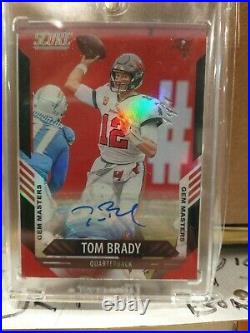 2021 Tom Brady Auto True 1 Of 1 First Auto Card In A Bucs Jersey Must See