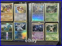 500+ Vintage Pokemon Cards Lot Diamond And Pearl Binder -Holos, Rares, Sealed BK