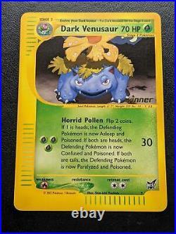 6 Dark Ivysaur Best of Game WINNER STAMPED Pokemon Card Mint
