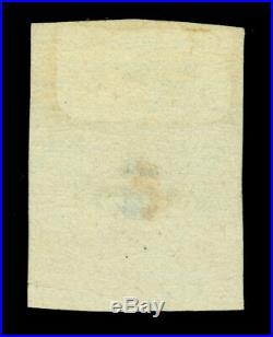 ARGENTINA 1858 CORDOBA 5c blue Scott # 1 mint MH
