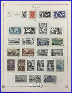 BJ Stamps FRANCE Older Collection, 1849-1940, Mint & Used. CV $1098.00+