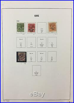 BJ Stamps IRELAND collection, 1922-1996, DAVO album, Mint & Used.'17, $1423