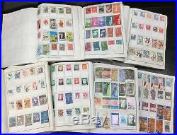 BJ Stamps WORLDWIDE lot of 20 approval books-about 20,000 Stamps, Mint or Used