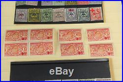Beautiful & Scarce French Colonies Stamp Collection Lot Stock Cards Most Mint