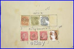 Belgium Stamp Album Collection Congo Africa Ruanda Urundi Overprints Mint 1849+
