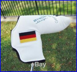 Byron Morgan 612 GSS Putter German Stainless Steel Tour Satin B & Co Stamp MINT