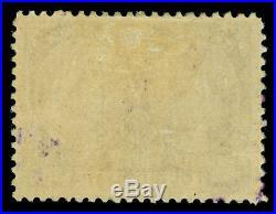 CANADA 1897 JUBILEE issue $4 purple Scott # 64 used FVF purple cancel