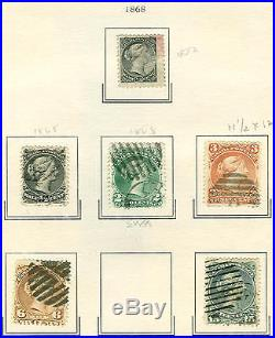 CANADA COLLECTION 1859-1940 mint & used on 25 pages, Scott $5,302.00