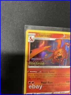 CHARIZARD Holo #SWSH066 Pokemon Vivid Voltage Build Prerelease Promo MINT