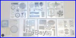 CTMH Close To My Heart Acrylix Acrylic Stamps LOT 33 Sets Craft Scrapbooking