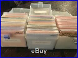 CTMH Close To My Heart Huge Lot Of 44 My Acrylix Stamp Sets New and Used