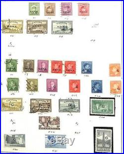 Canada Valuable Stamp Collection Mint & Used 1859 To Modern