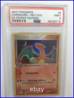 Charizard 6/108 Ex Power Keeper Stamp Edition Holo Pokemon Card 2007 PSA 9 Mint