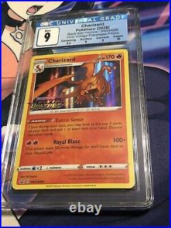 Charizard Holo SWSH066 VIVID Voltage Pokémon Card CGC 9 PSA BGS Mint 10 Sub