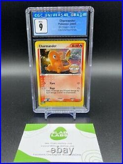 Charmander EX Dragon City Championships Holo Rare 98/97 CGC 9 Mint PSA BGS