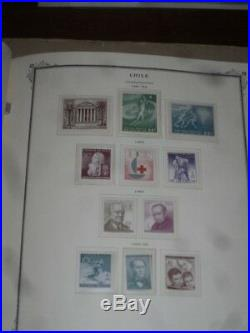 Chile Collection in Scott Speciality Alb. 527 Stamps Mint + Used Hingeless