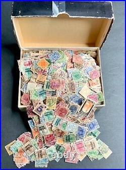 Cigar Box Lot German Empire Mint/Used Accumulation 220grs/7.8oz