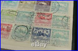 Czechoslovakia Stamp Accumulation Hradcany Issues Some Mint 3300+ in Stockbooks