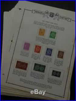 EDW1940SELL ISRAEL Very nice Mint & Used collection almost Cplt betw 1948-1971