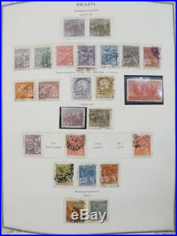 EDW1949SELL BRAZIL Extensive Mint & Used collection on pages with many Better