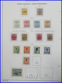 EDW1949SELL DANISH WEST INDIES Almost Cplt collection of Mint & Used Cat $3065