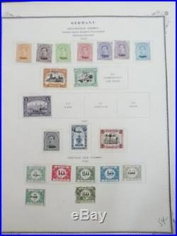 EDW1949SELL GERMANY Mint & Used collect of German Occupation issues Cat $1,085