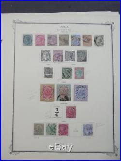EDW1949SELL INDIA Nice Mint & Used collection on pages including many Better