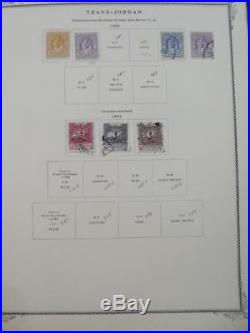 EDW1949SELL JORDAN Very clean Mint & Used collection on album pages. Cat $806