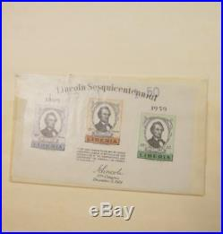 EDW1949SELL LIBERIA Mint & Used stock neatly arranged. Cat by owner $1,700+