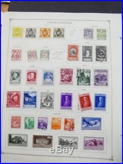 EDW1949SELL LIECH Very clean Mint & Used collection on album pages. Cat $921