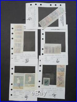 EDW1949SELL PARAGUAY Nice collection of Mint & Used sgls & sets Scott Cat $701